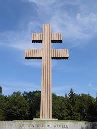 """Résultat de recherche d'images pour """"la croix de lorraine colombey les deux églises"""""""