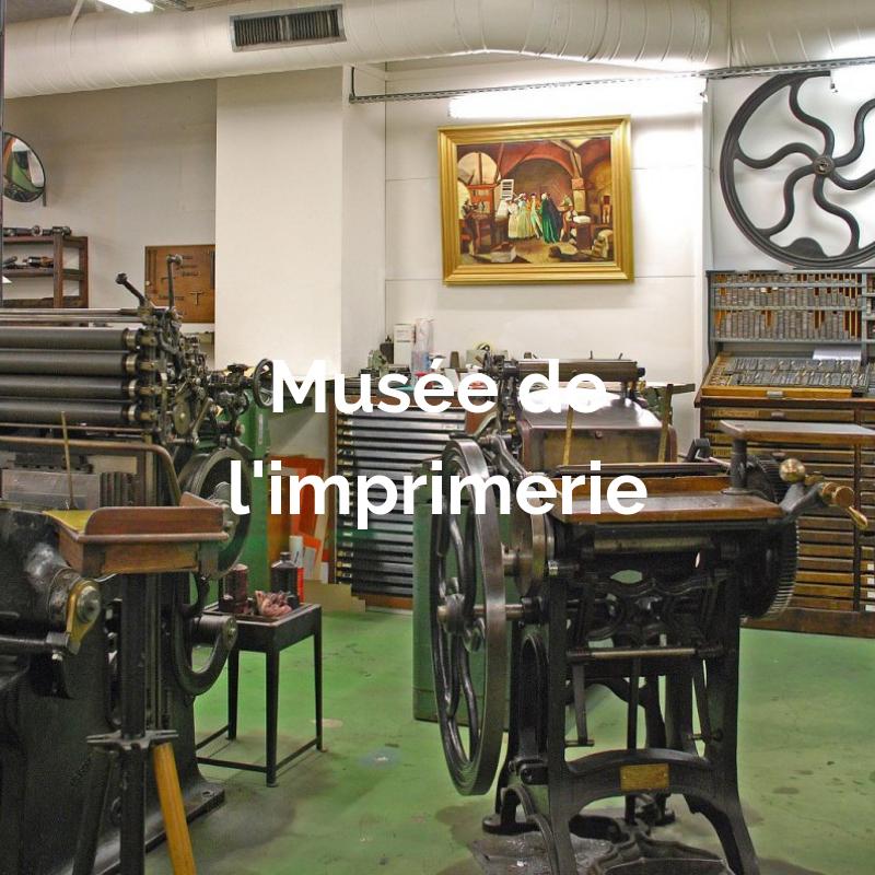 Anciennes machines d'imprimerie