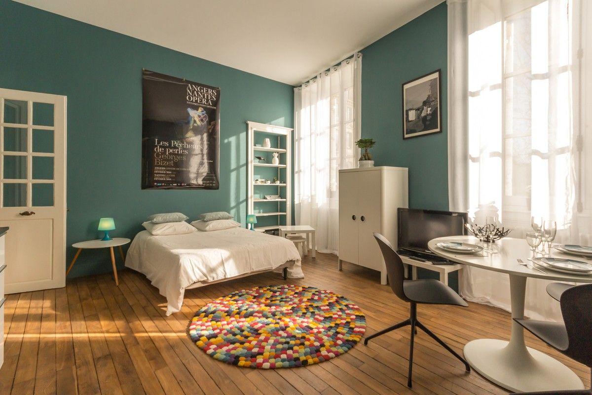 Chambre dans un appartement de vacances en Loire-Atlantique