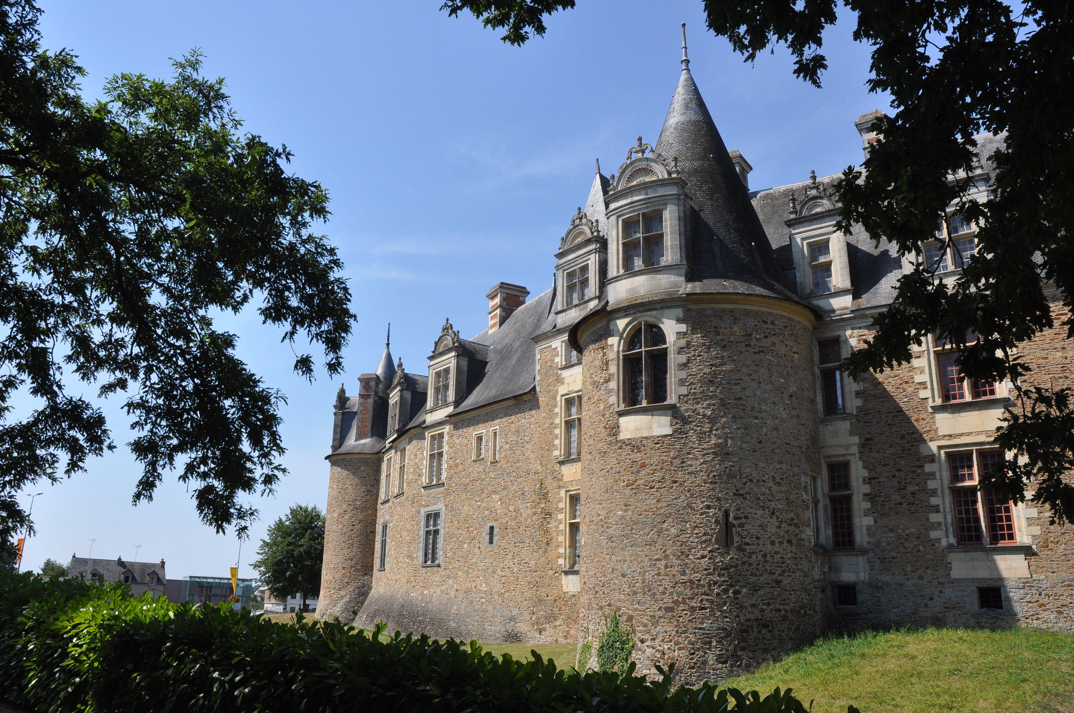 Château de Châteaubriant en Loire-Atlantique