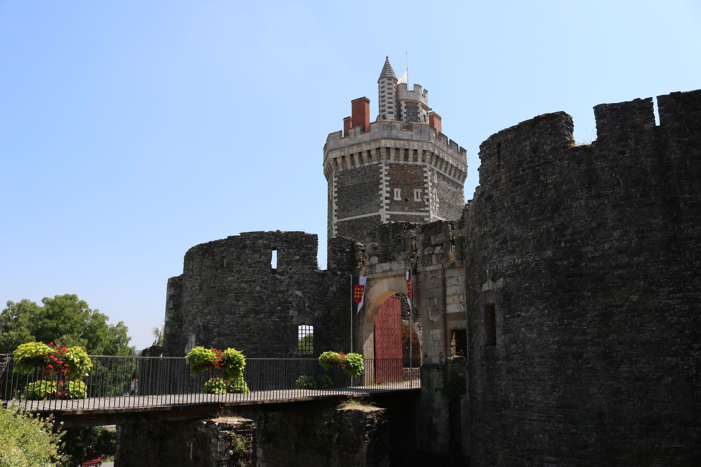 Château médiéval d'Oudon, en Loire-Atlantique