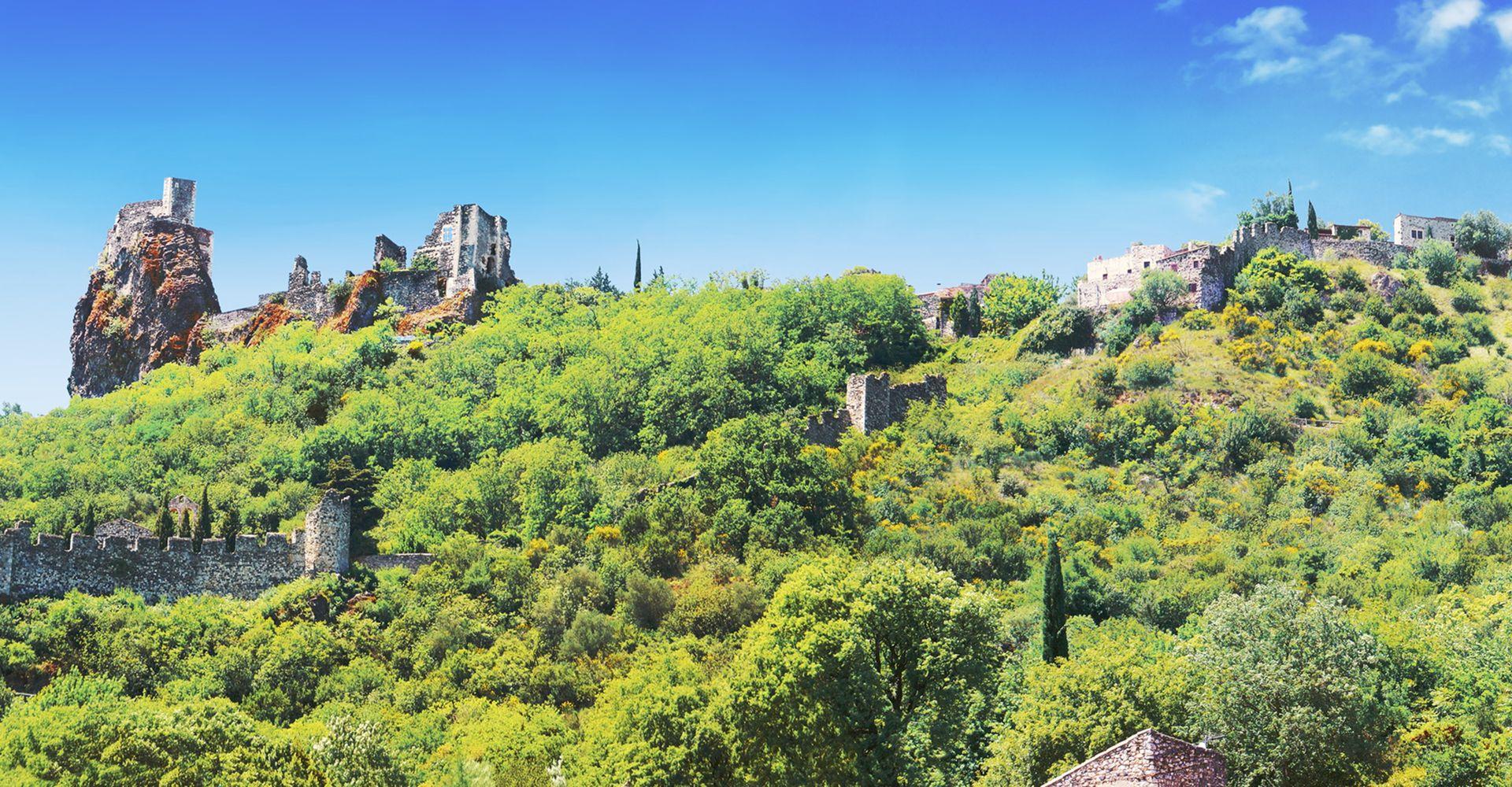 Rochemaure - Village de caractère - Gîtes de France Ardèche