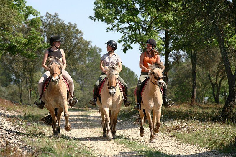 Séjour découverte de l'équitation en Ardèche - Location Gîtes