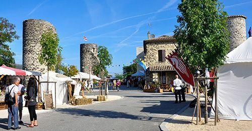 Saint-Vincent-de-BarrèsAilhon - Village de caractère - Gîtes de France Ardèche