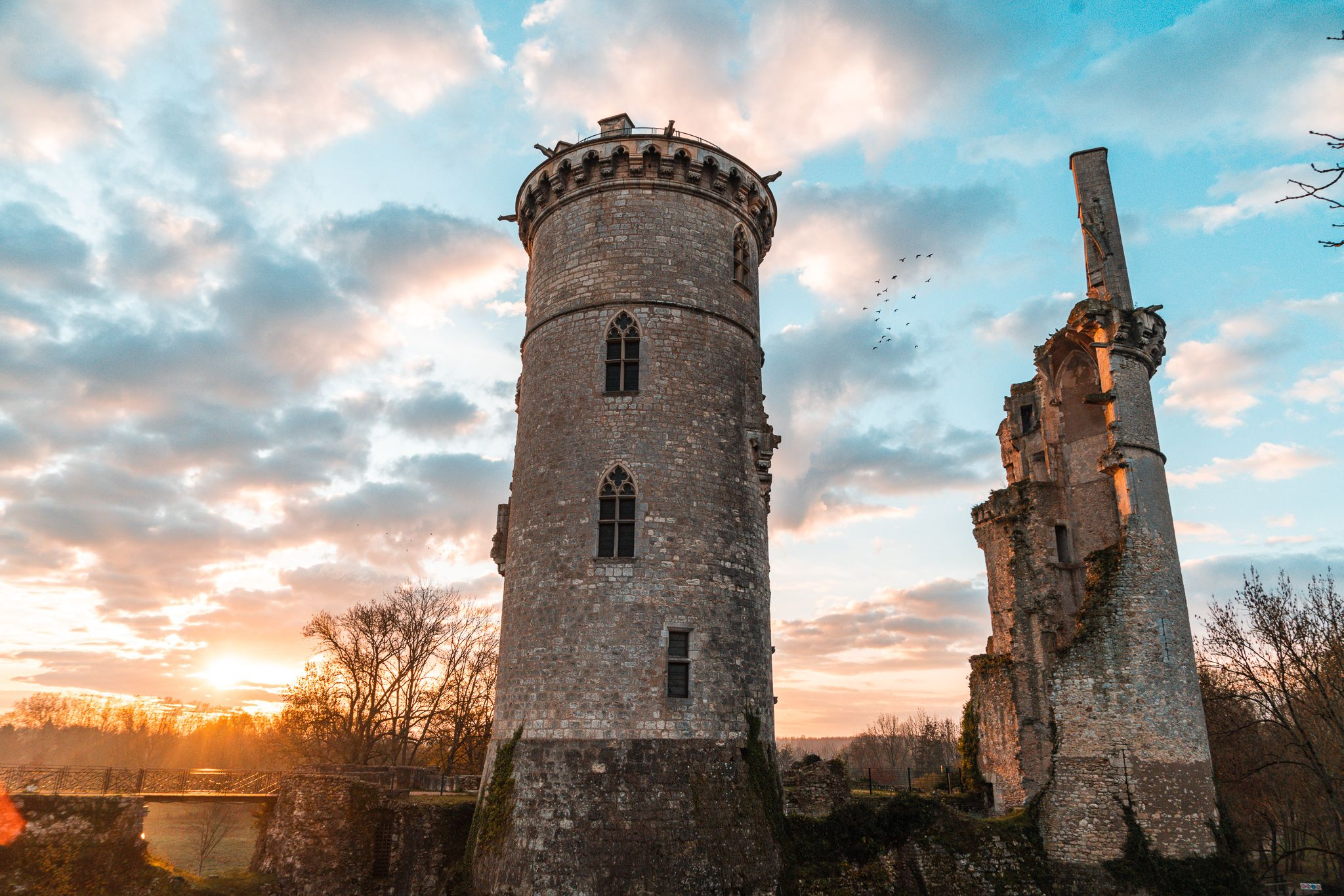 Château Charles VII Mehun - Crédit Ad2T