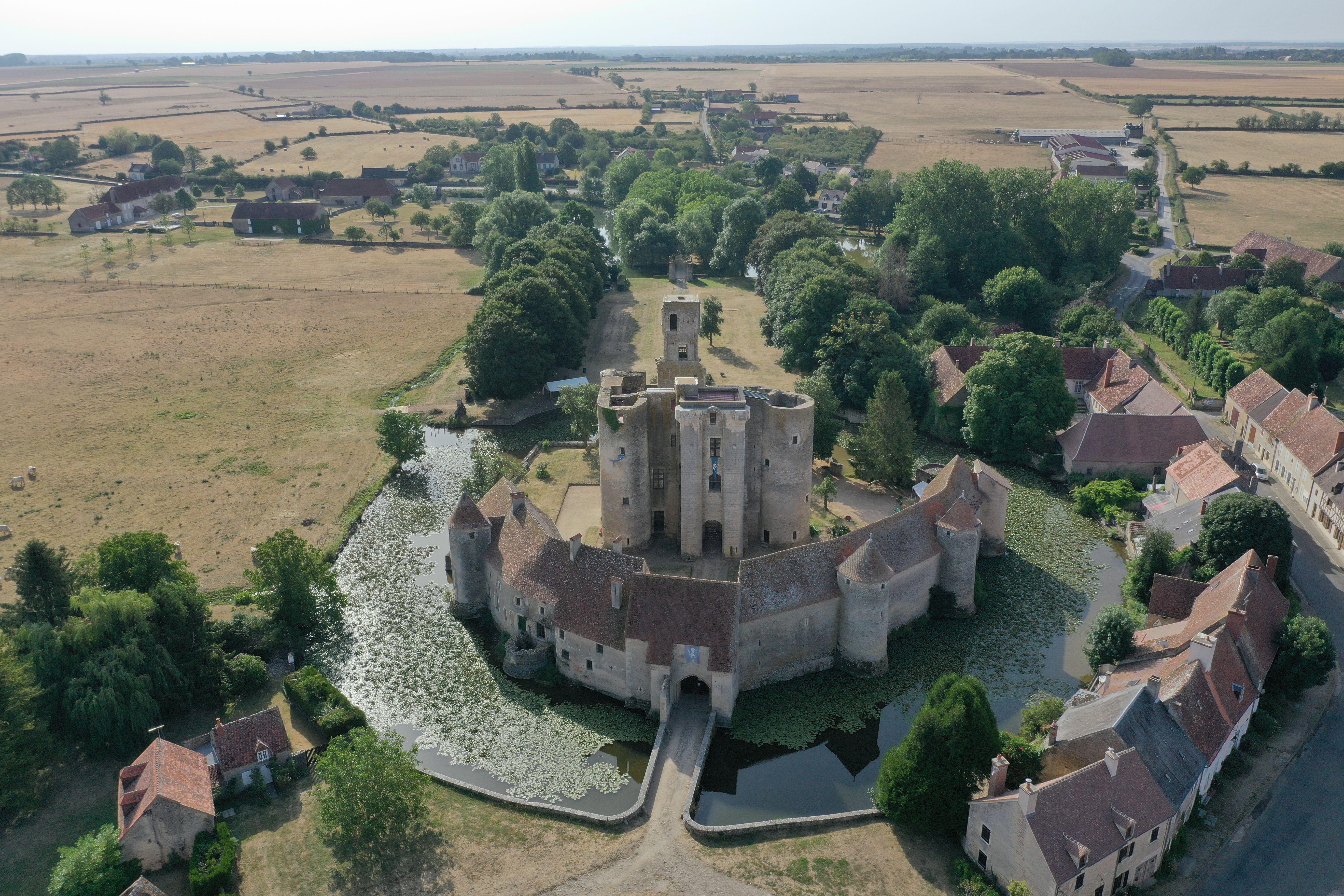 Château de Sagonne - Crédi Ad2T