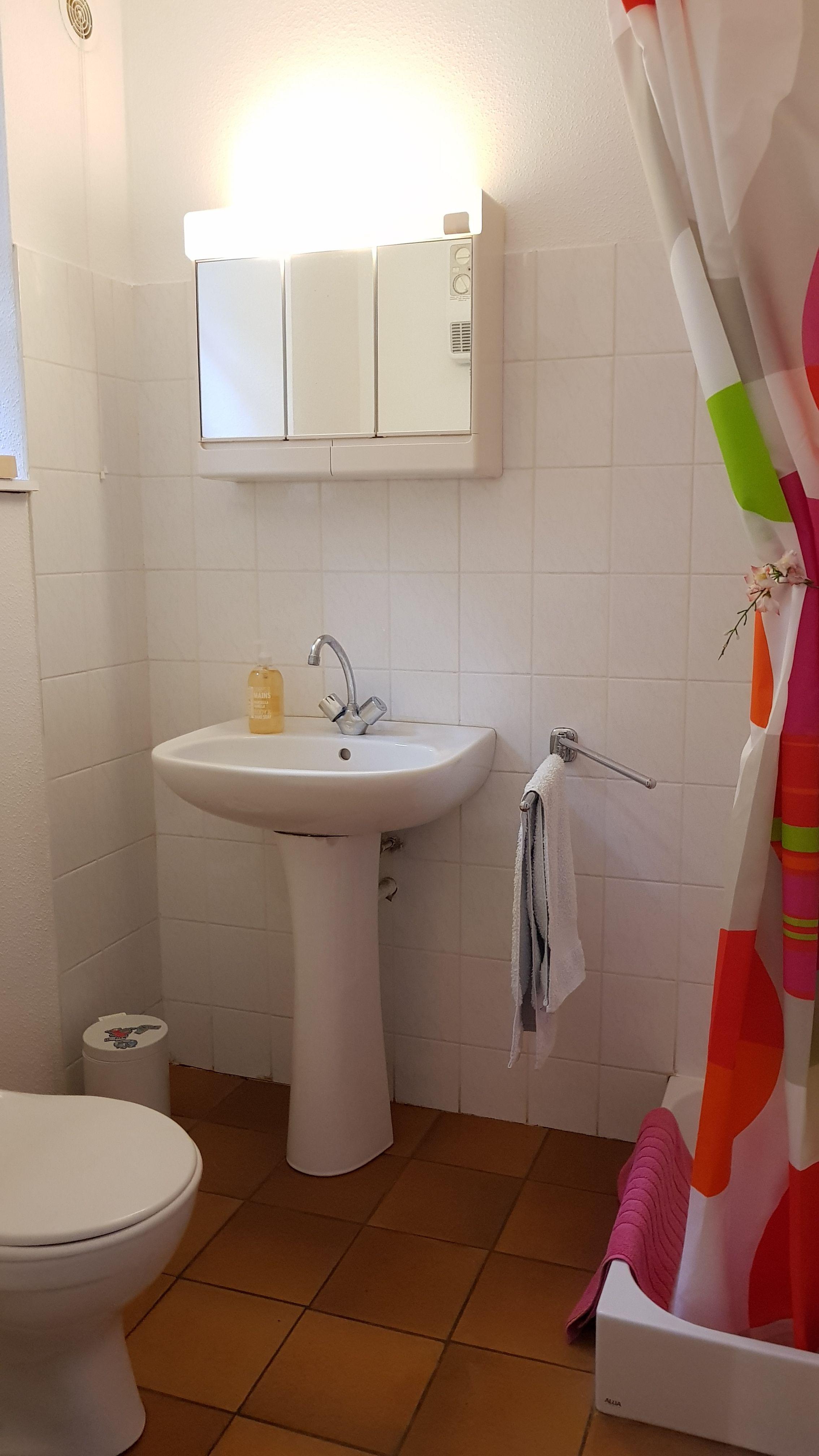 Salle de bain du bas.