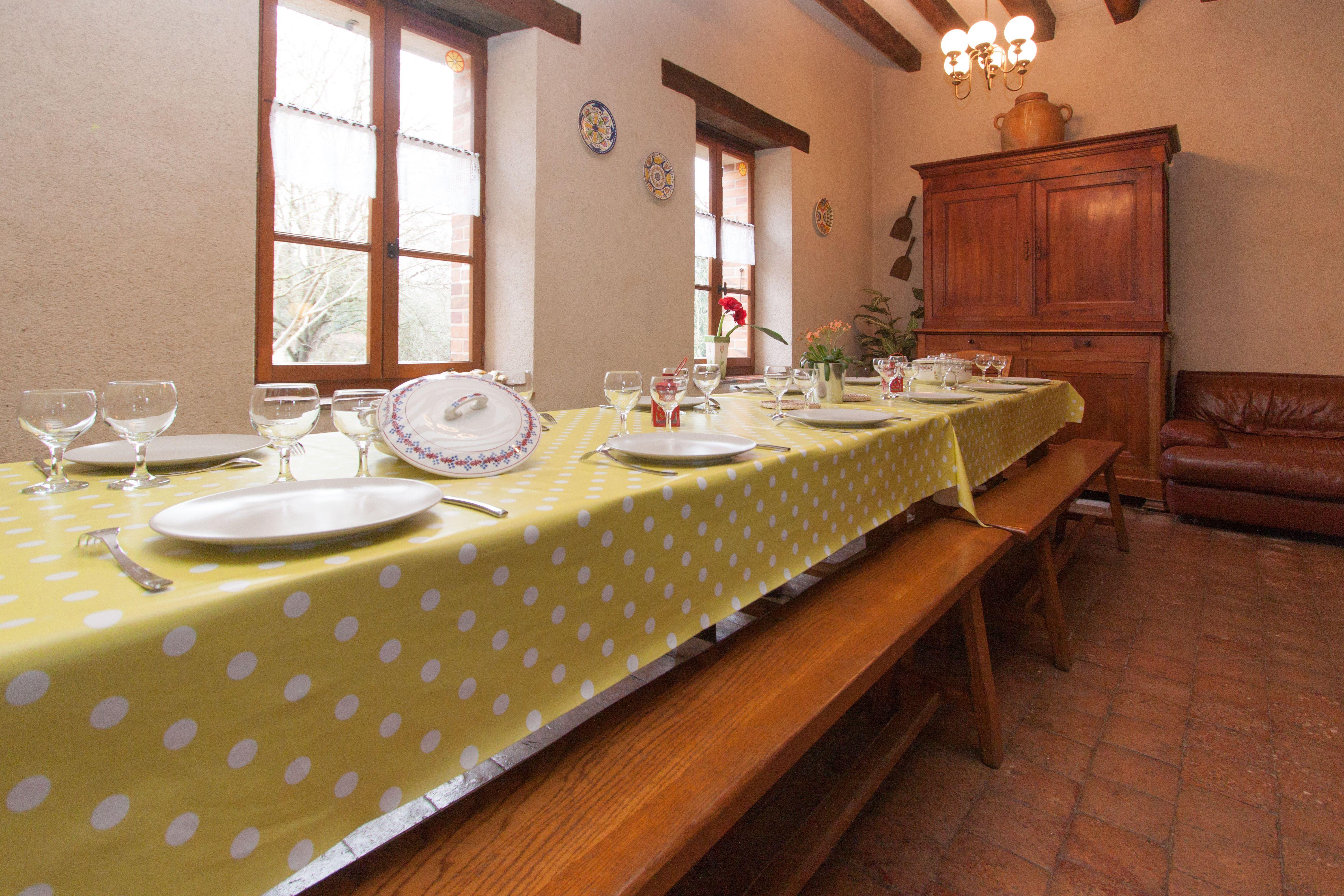 Le côté salle à manger