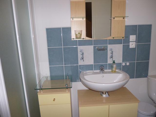 Salle de bain avec douche, de la grande chambre