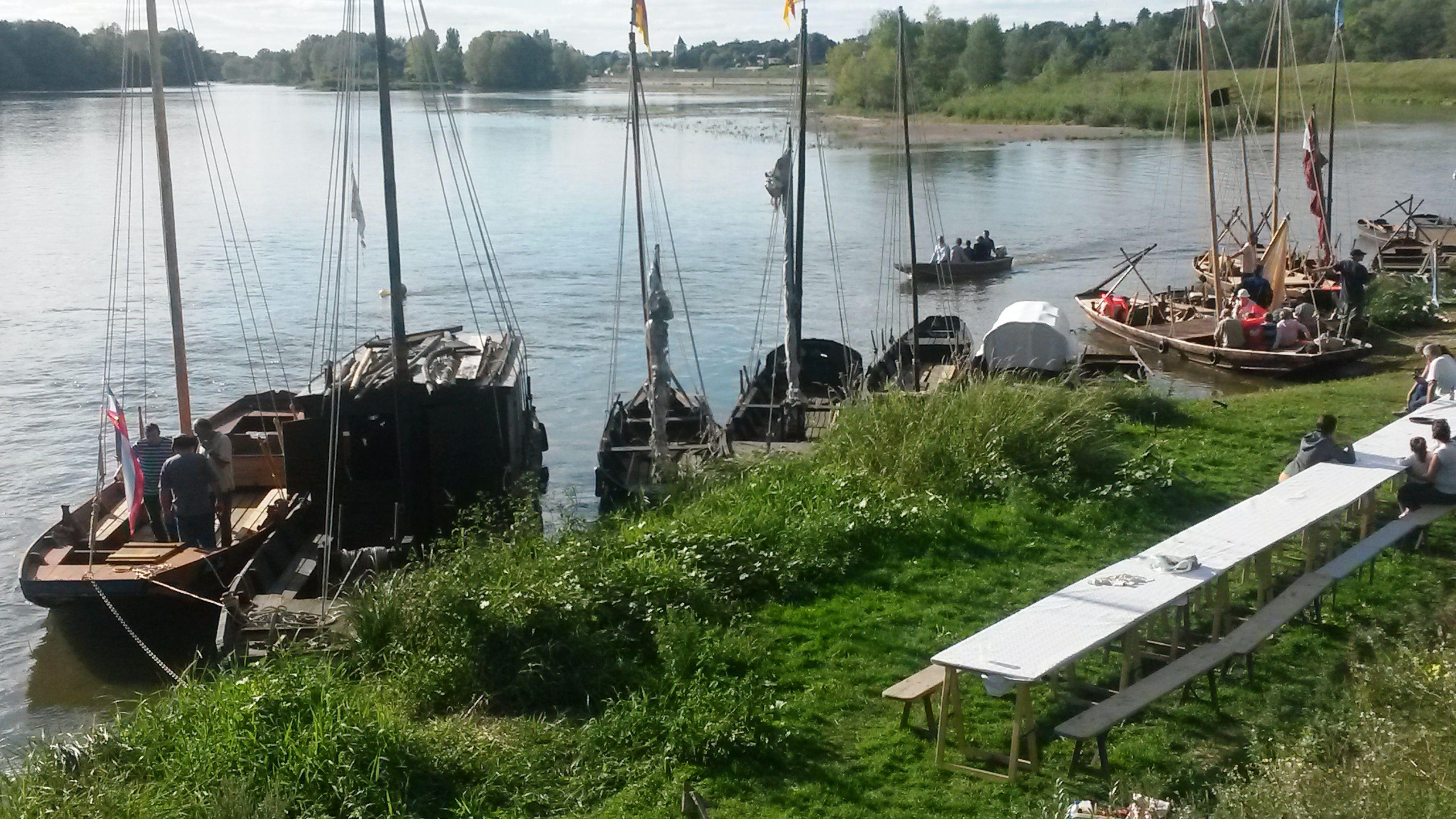 Les bords de Loire à Combleux
