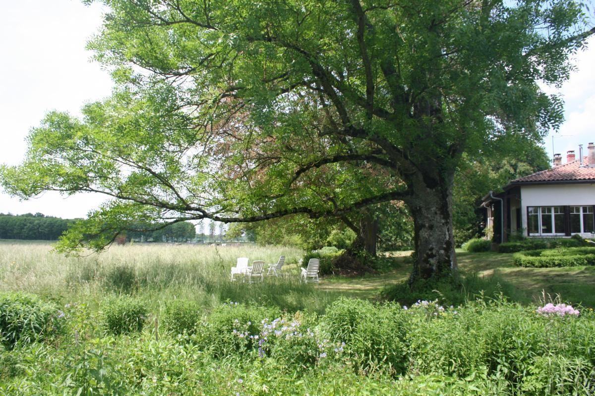 Jardin et prairie privée. 51G416 - Sous l'Orme en Argonne - Les Charmontois - Gîtes de France Marne