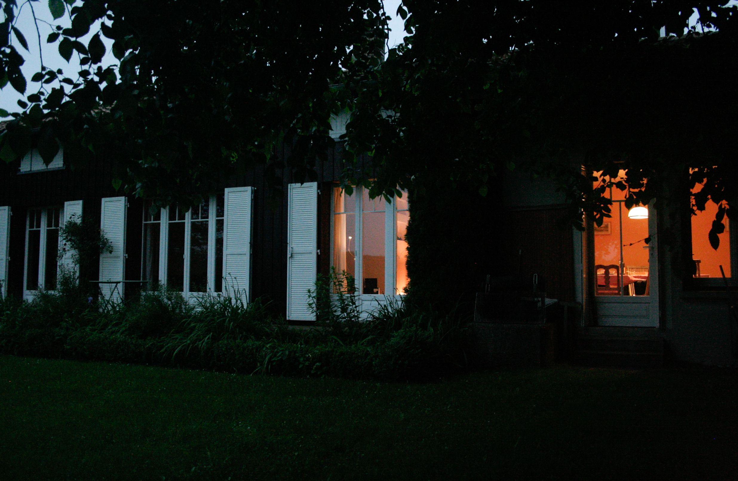 La nuit tombée. 51G416 - Sous l'Orme en Argonne - Les Charmontois - Gîtes de France Marne