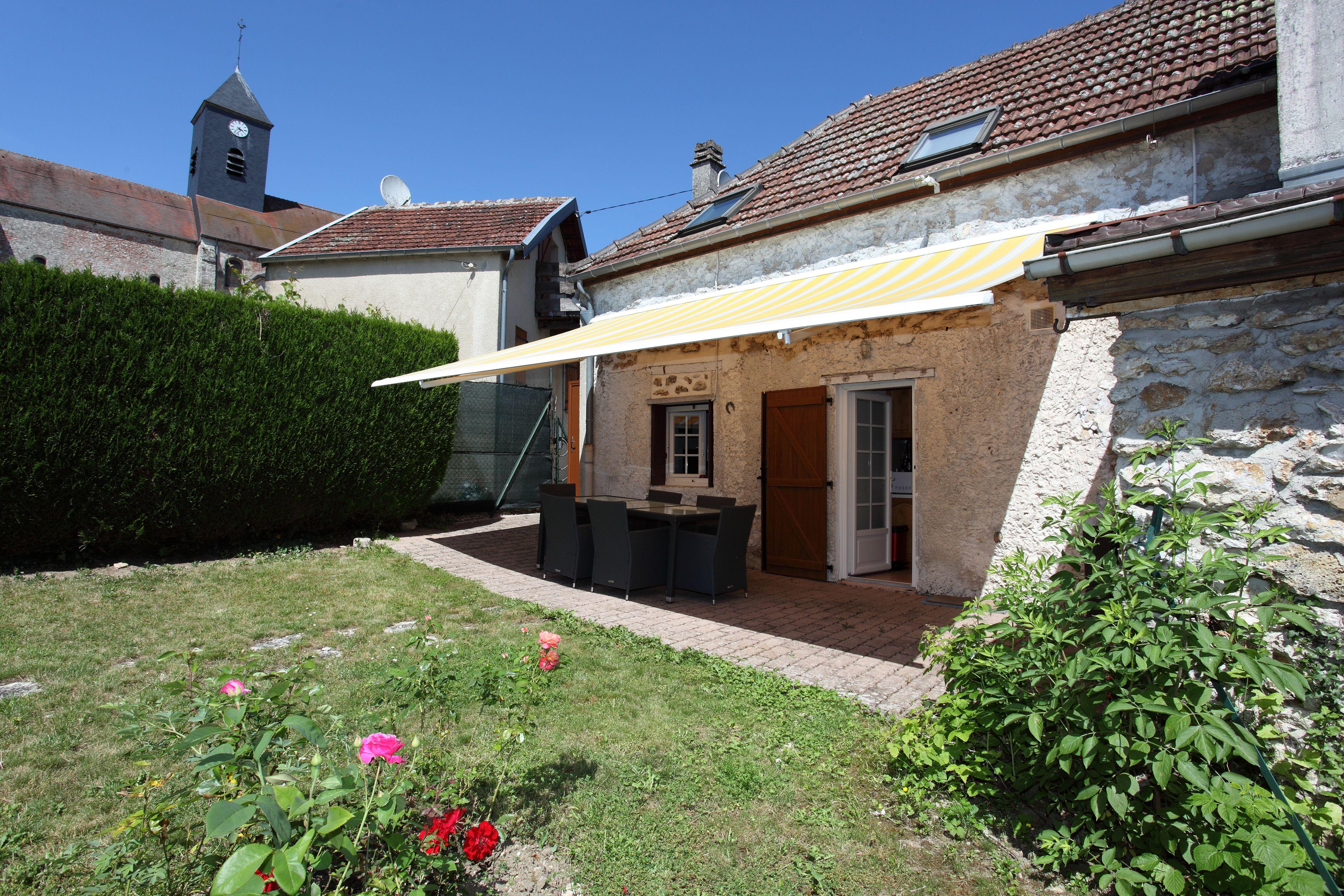 Extérieur - Jardin privatif  51G468 - Gîte du Parapet - Mareuil en Brie - Gîtes de France Marne