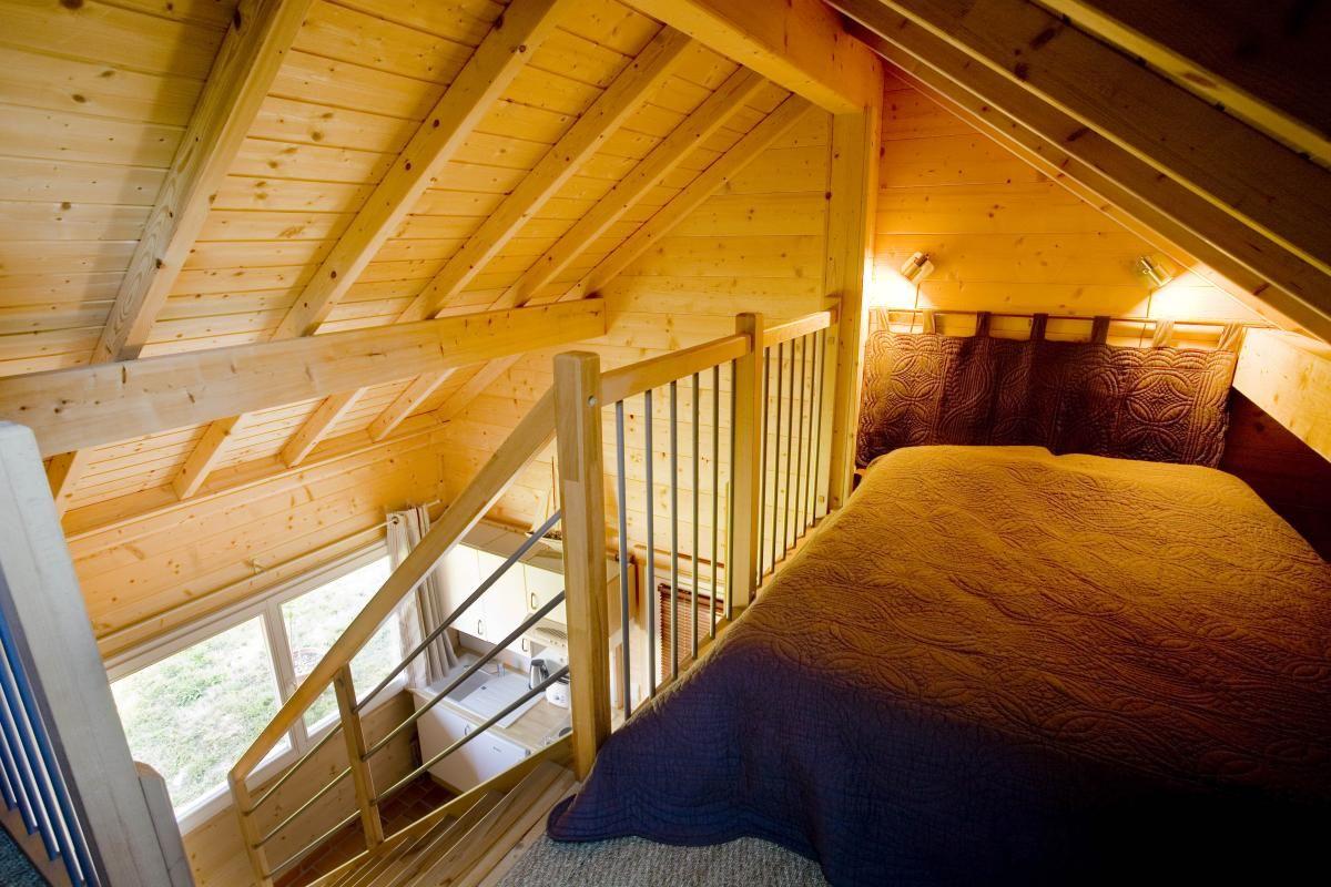 Couchage 2 personnes 51G362 - La Maison en Bois - Moslins - Gîtes de France Marne