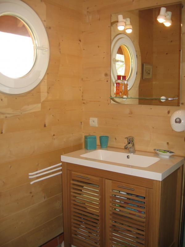 Salle d'eau  51G362 - La Maison en Bois - Moslins - Gîtes de France Marne