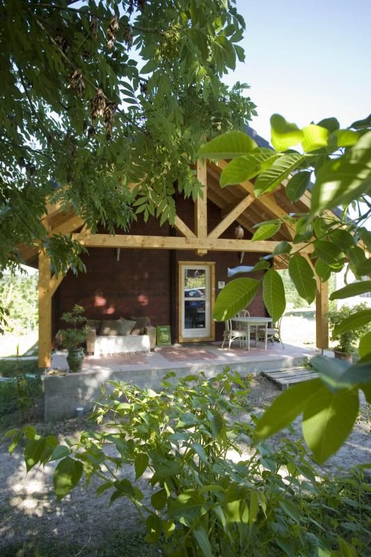 Terrasse 3 51G362 - La Maison en Bois - Moslins - Gîtes de France Marne