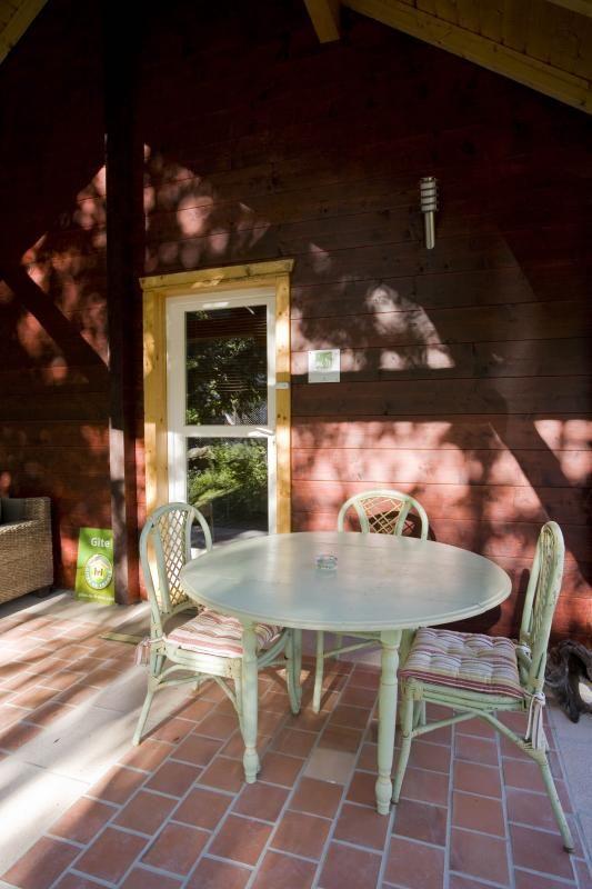 Terrasse 2 51G362 - La Maison en Bois - Moslins - Gîtes de France Marne