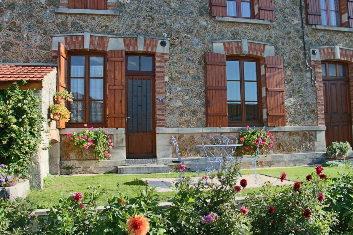 La terrasse cote jardin 51G259 - Les Meulières - Vésigneul sur Marne - Gîtes de France Marne