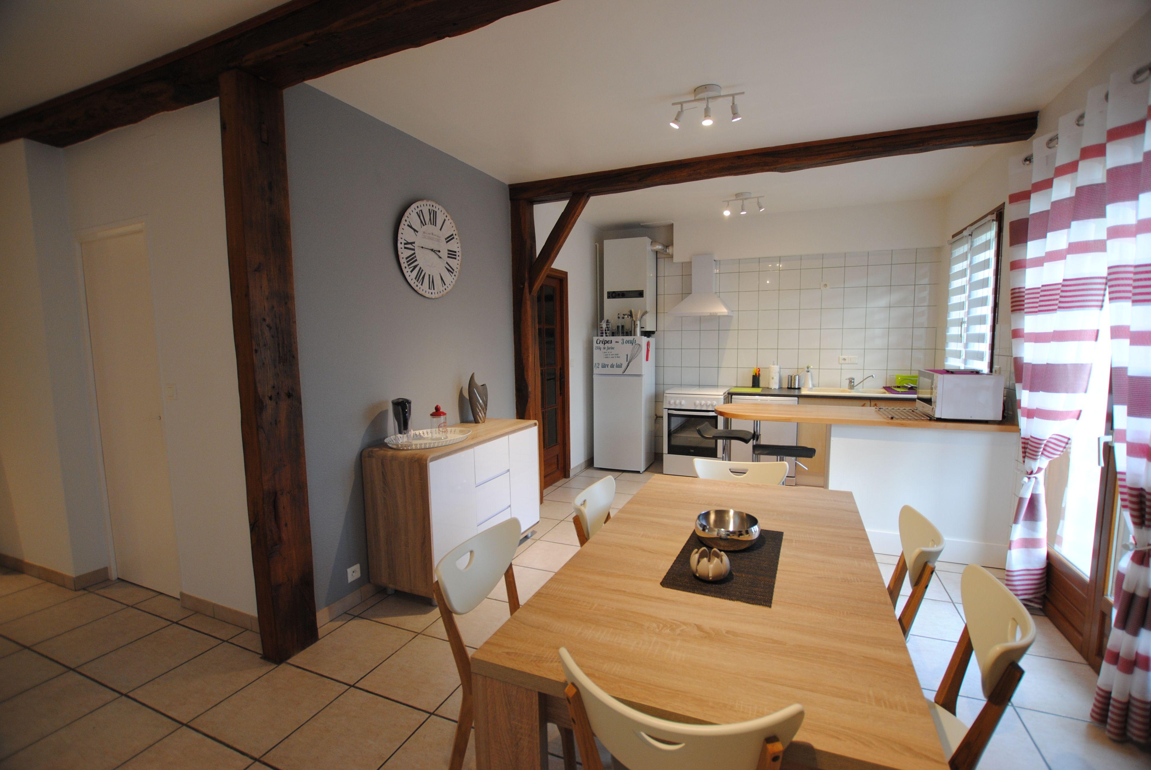 vue repas cuisine 51G485 - Chez Bri-Gîte - Loisy sur Marne - Gîtes de France Marne