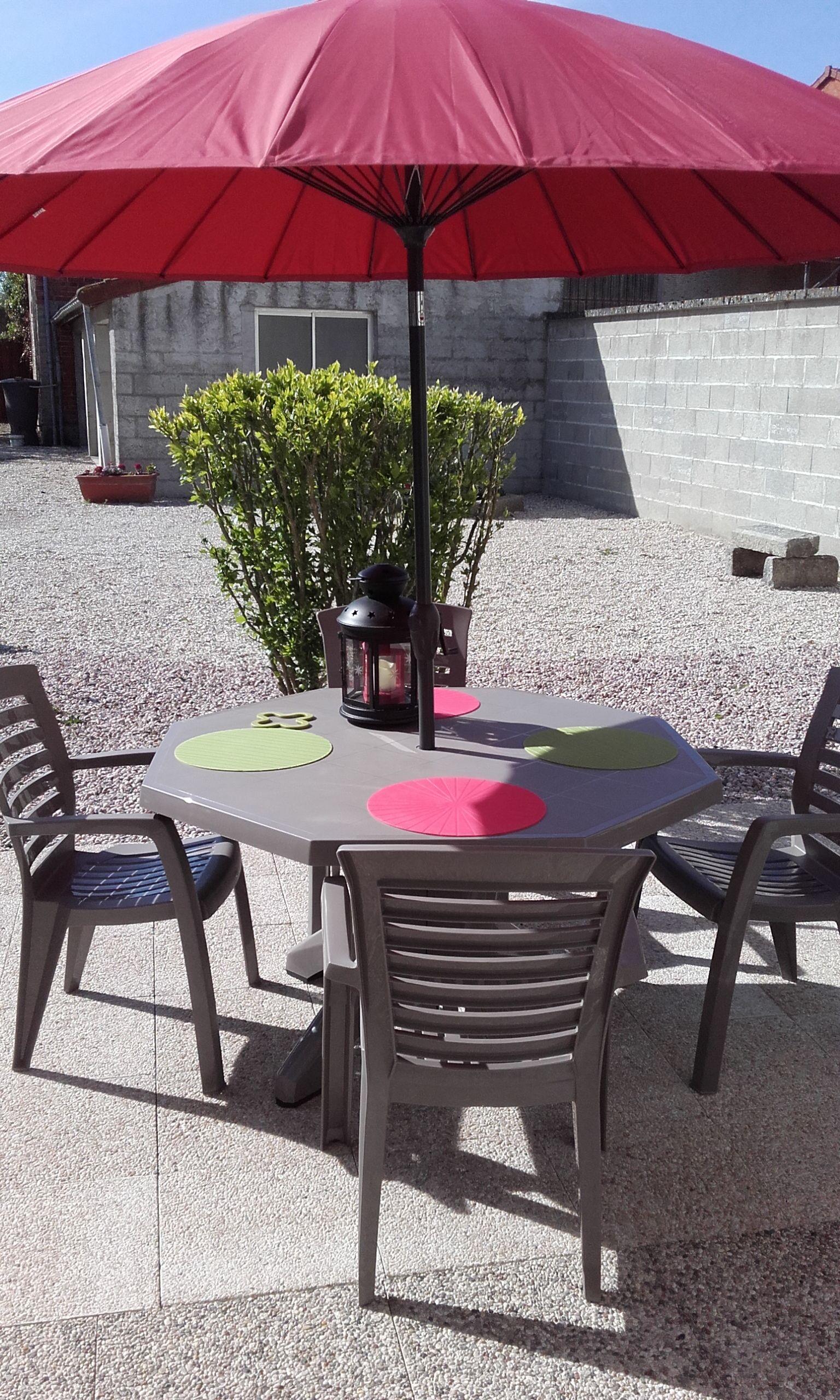 terrasse vue de la cuisine 51G485 - Chez Bri-Gîte - Loisy sur Marne - Gîtes de France Marne