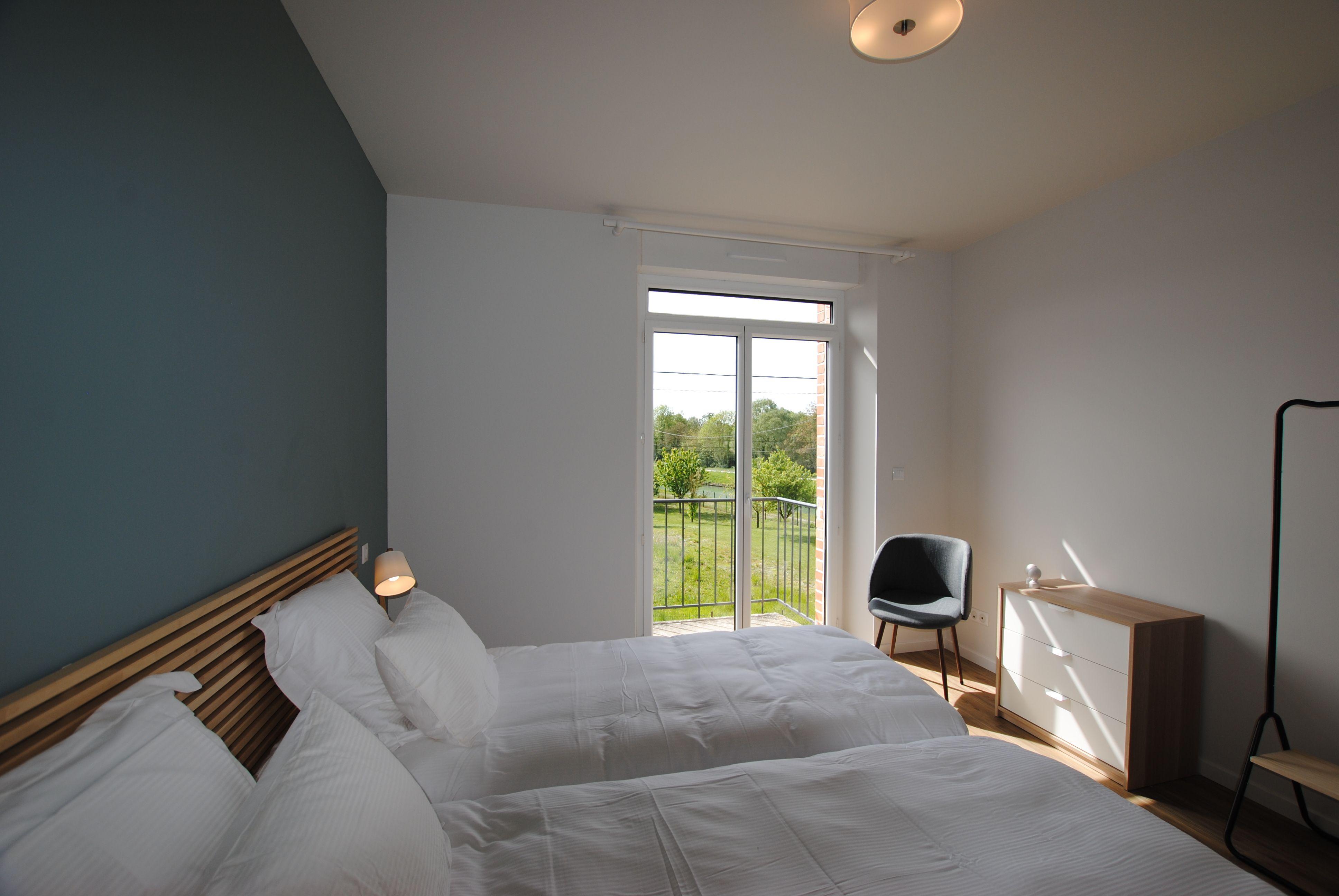 51G494 - Pogny - La Maison Gabriel - chambre 2 1er étage