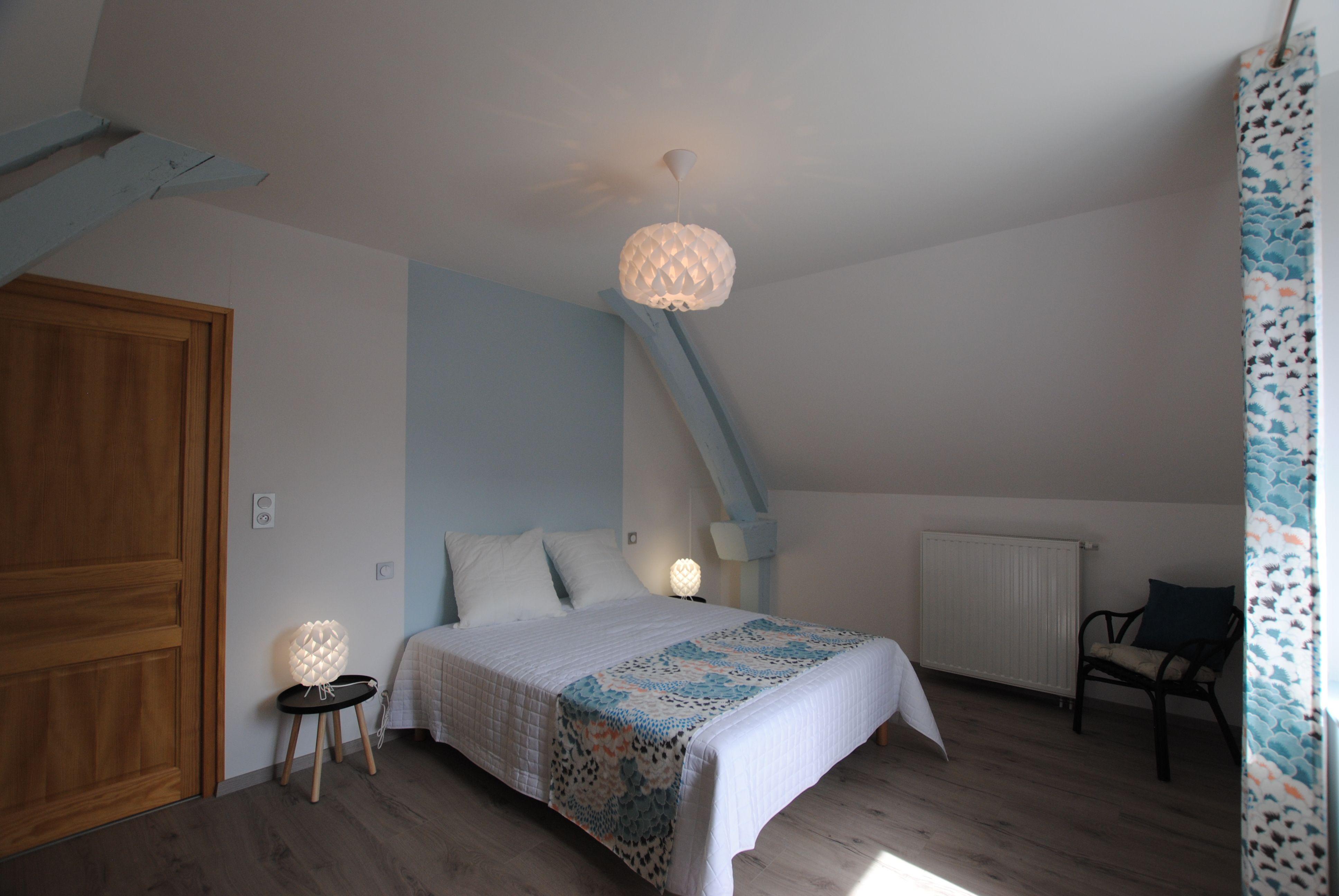 51G496 - Igny Comblizy - L'Epi Doré - Chambre bleue (1er étage)