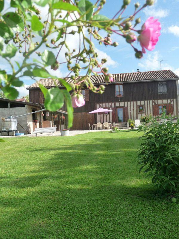 Le jardin-Les Aneries-Champagne-Marne-Argonne