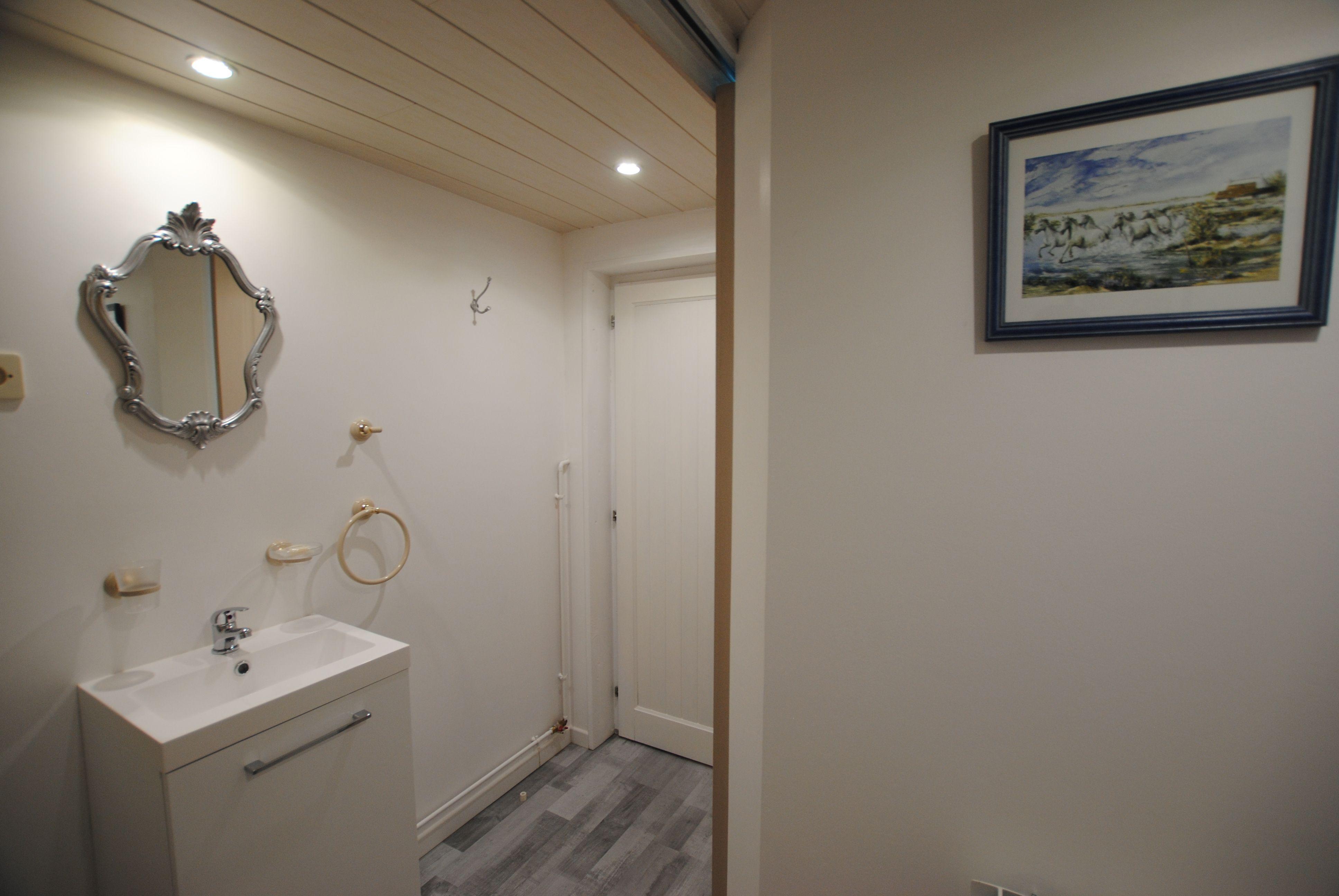 Salle d'eau - Chambre d'hôtes - Le Pigeonnier - 51G51205 - Dampierre-le-Chateau - Gîtes de France Marne