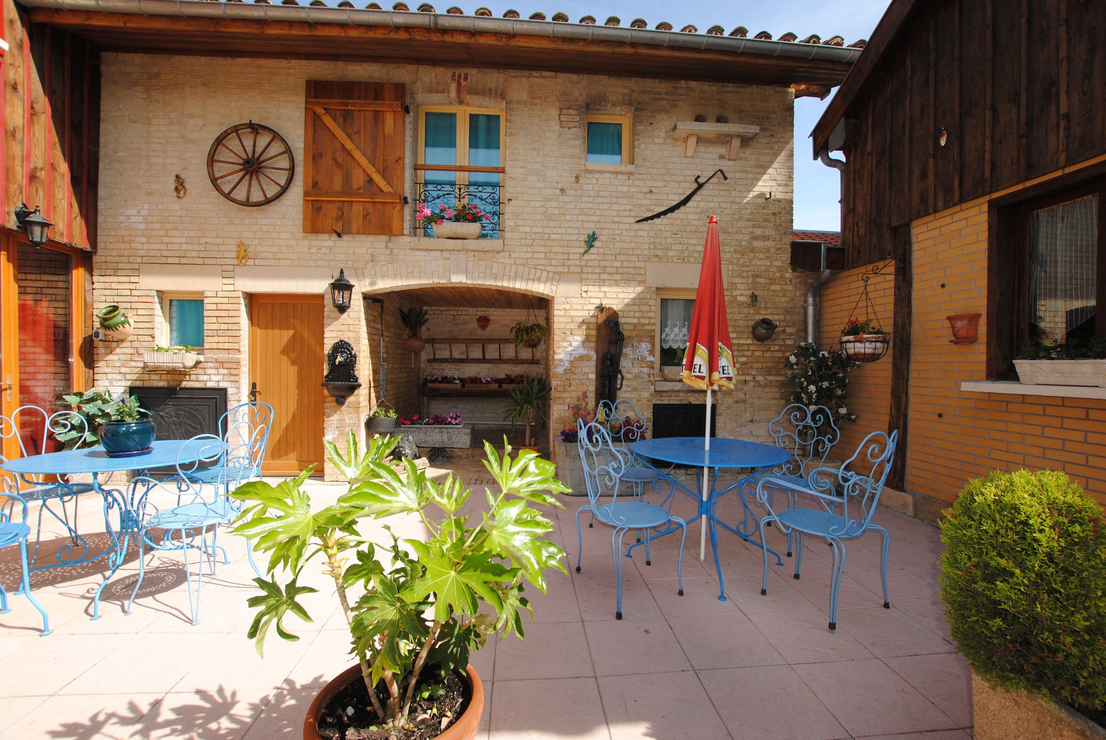 Chambre d'hôtes - Le Pigeonnier - 51G51205 - Dampierre-le-Chateau - Gîtes de France Marne