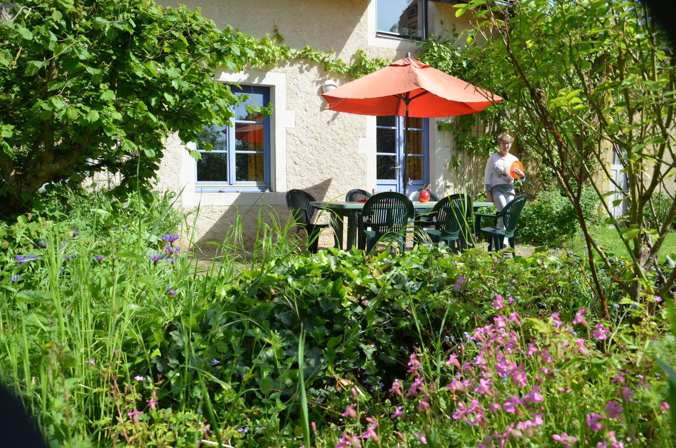 Terrasse du gite miradon