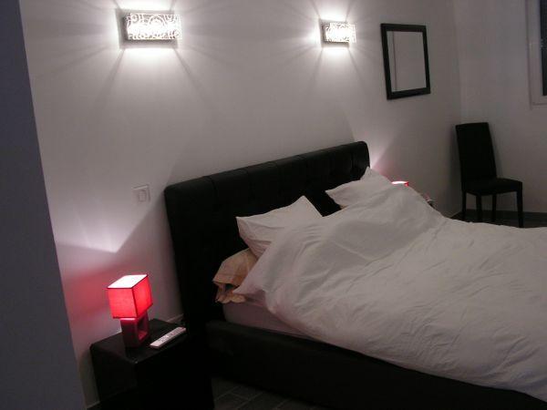 chambre lit 160 avec télévision
