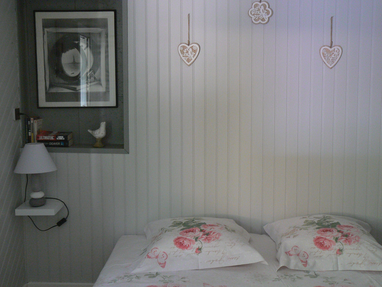 chambre avec drap de qualité