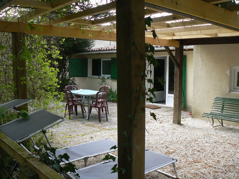 espace détente à la maison de l'étang