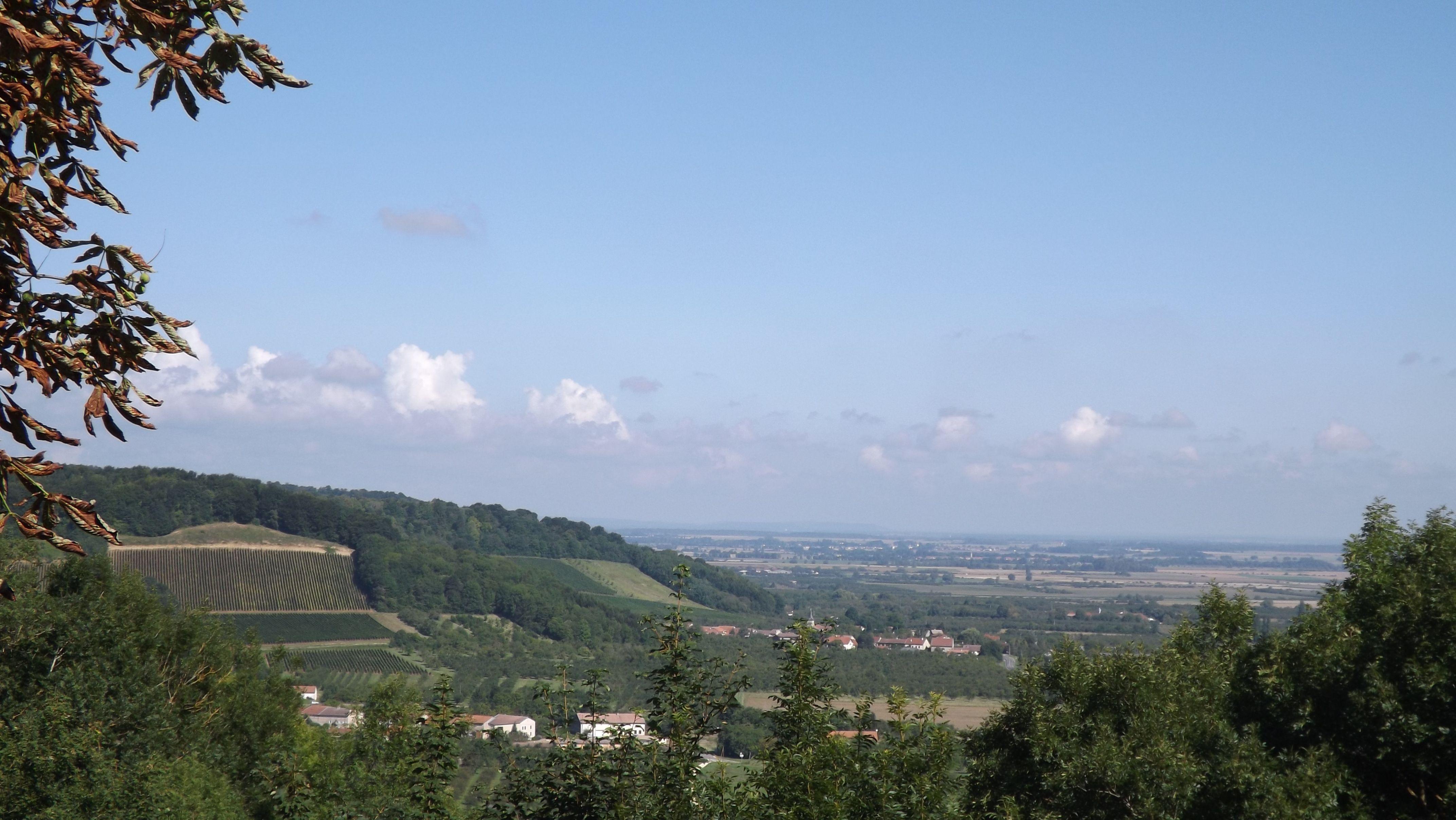 Vue d'Hattonchâtel