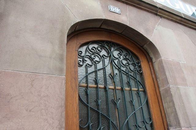 Résidence le59 - porte d'entrée