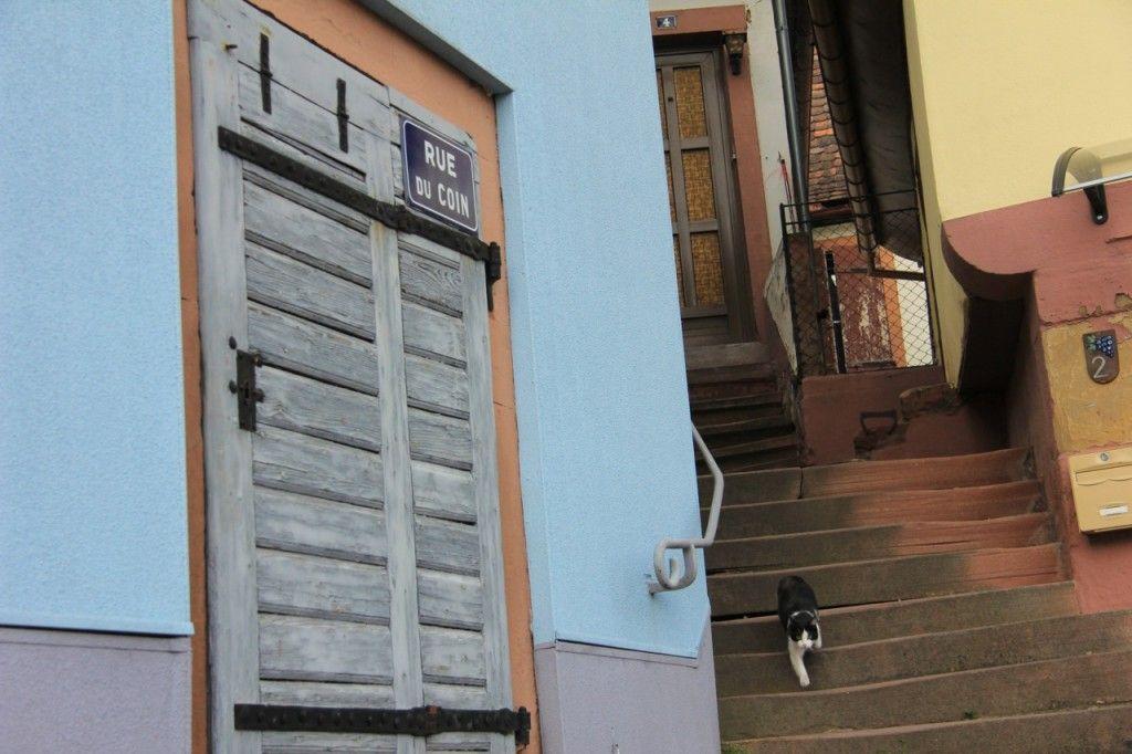 Wasselonne - vieille ville, ruelle typique