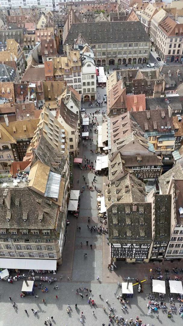 Strasbourg - Vue de la Cathédrale