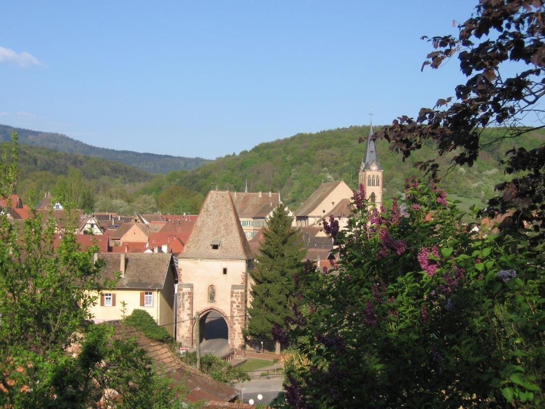 Le village médiéval de Boersch