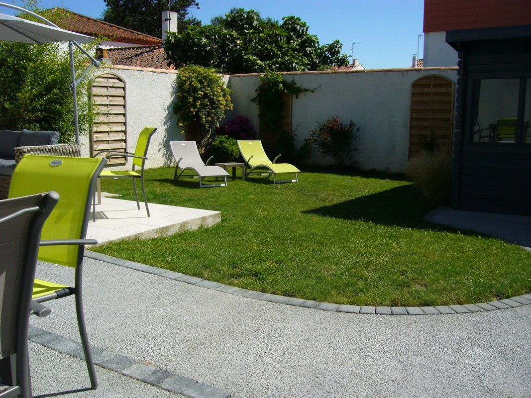 Jardin clos de 100 m²