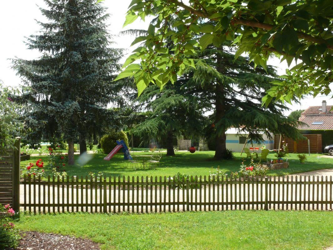 jardin privatif et vue sur le parc