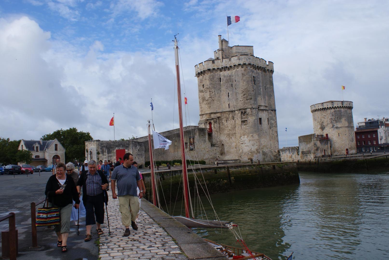 Les celebres tours de la Rochelle