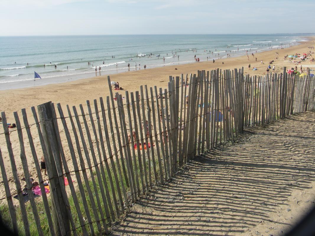 L a plage