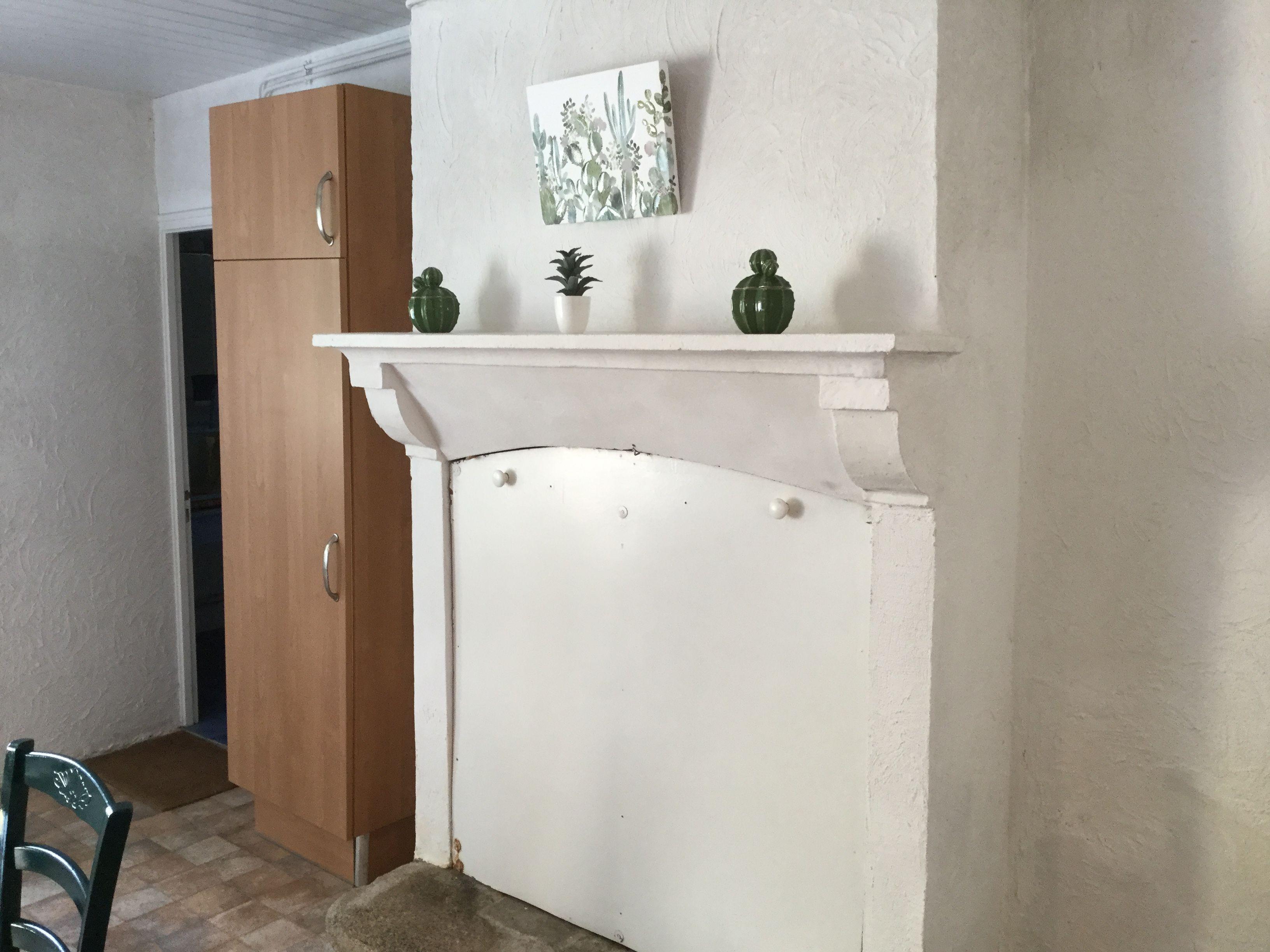 cuisine côté cheminée