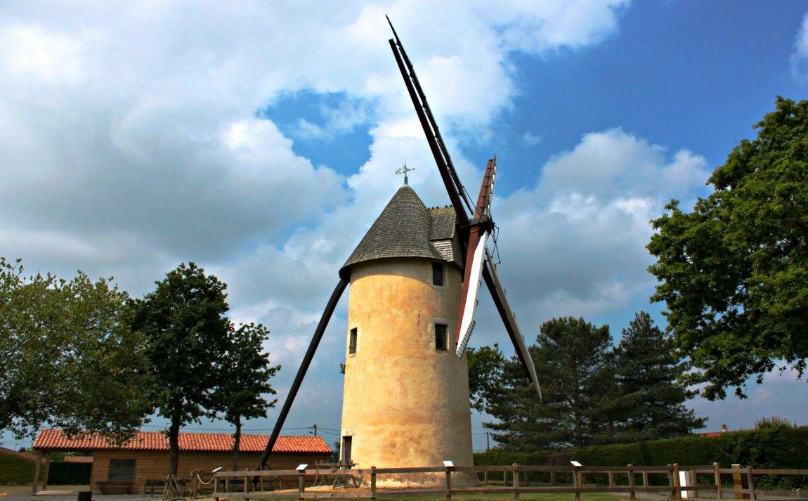 Site du Moulin des Gourmands à 200 mètres