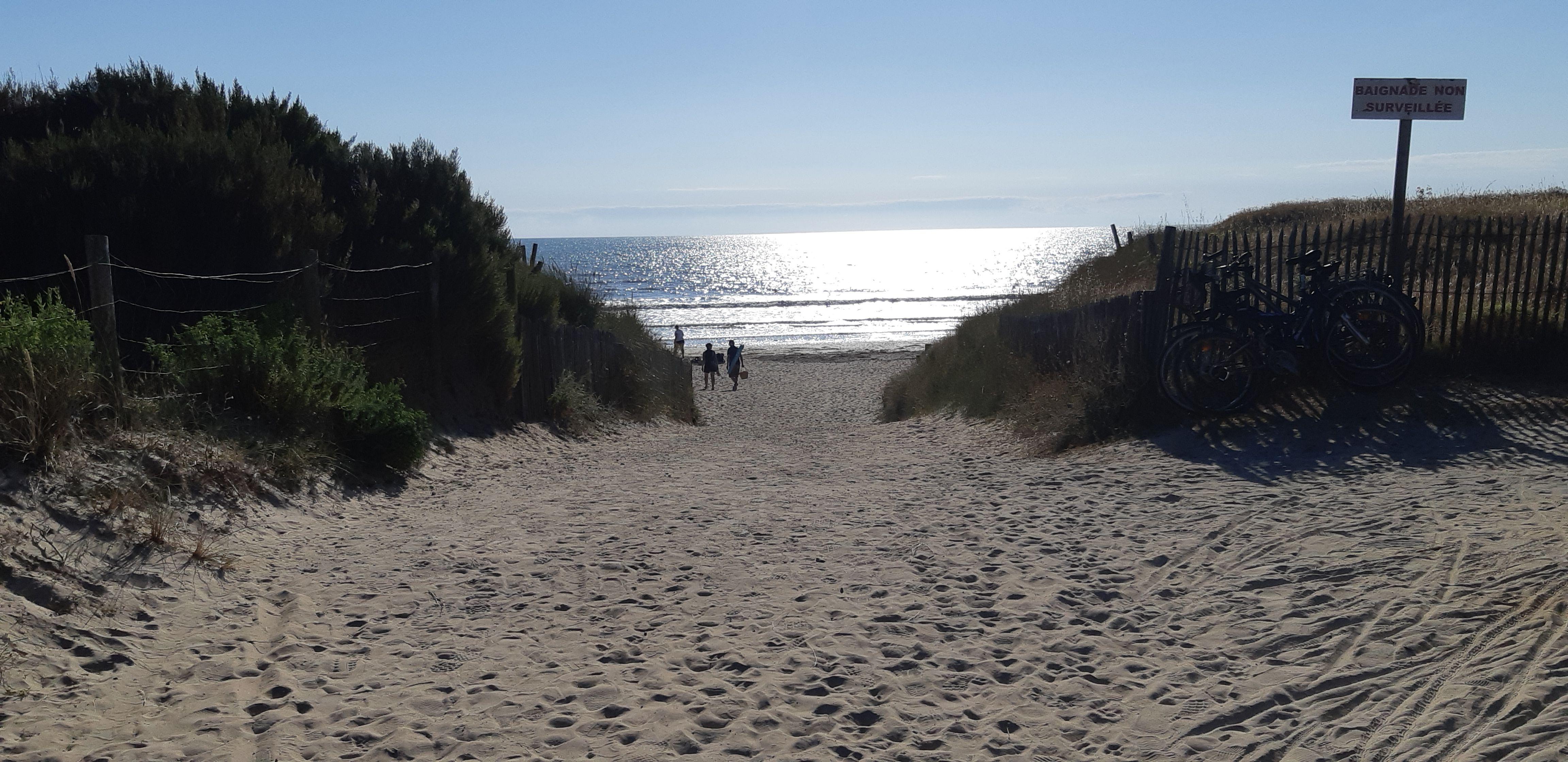 Superbes plages vendéennes à 20 kms.