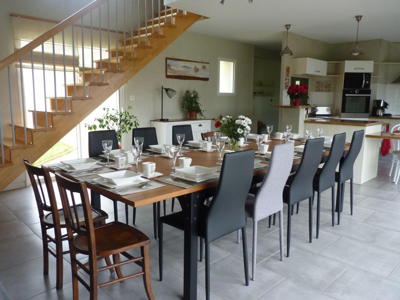 Grande table de séjour