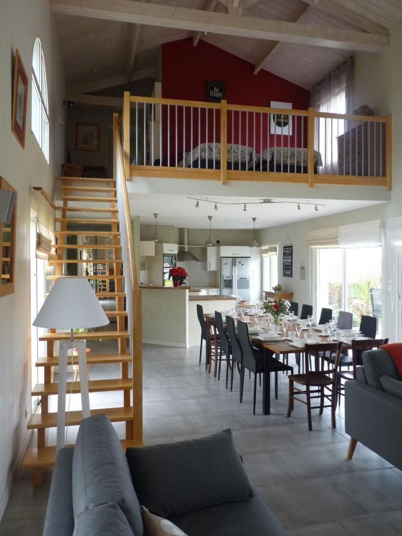Séjour - cuisine - Mezzanine