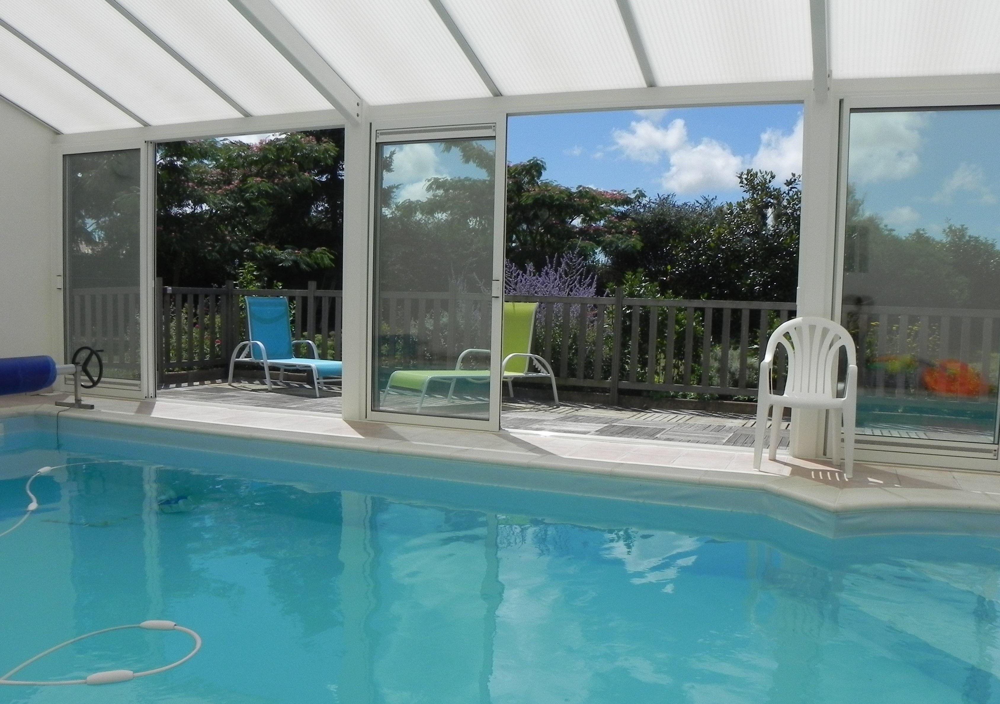 piscine 4 x 8 ouverte 17/20 h en saison