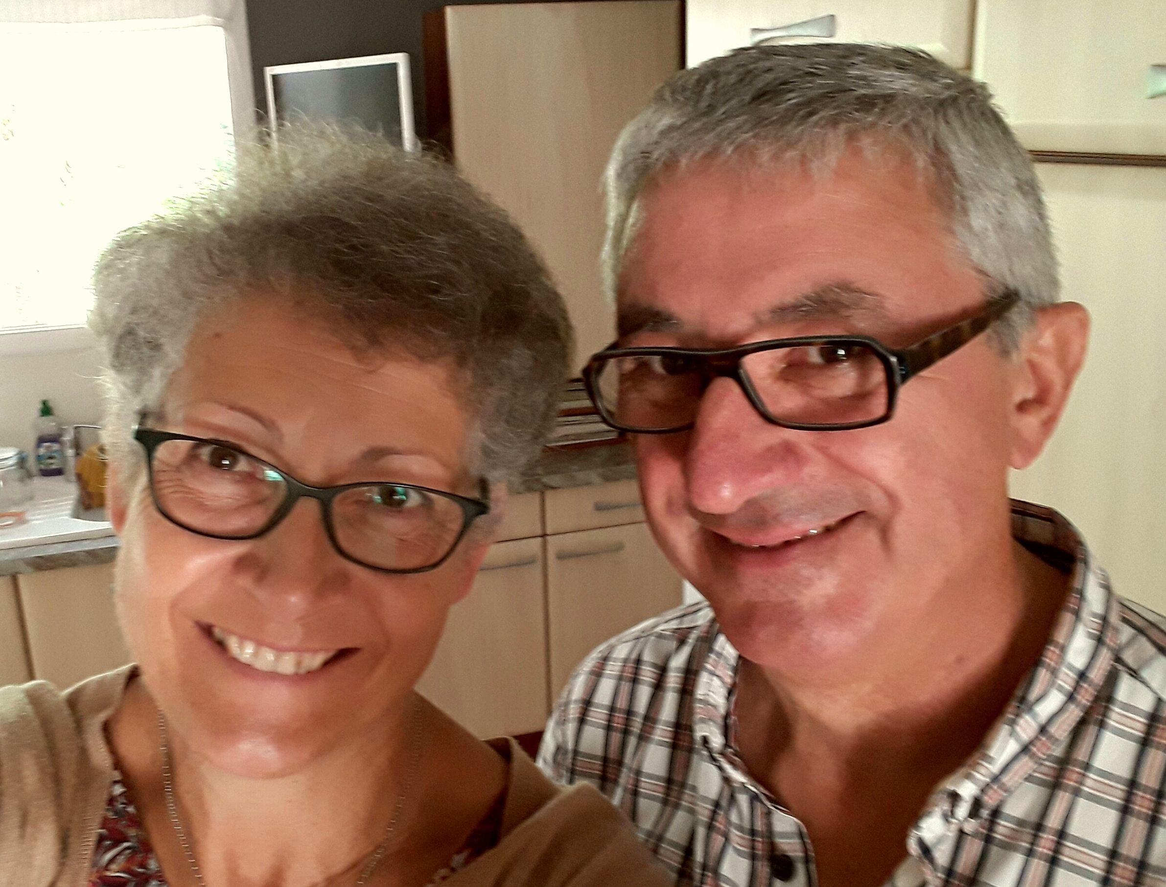 Anne-Marie et Joël les propriétaires