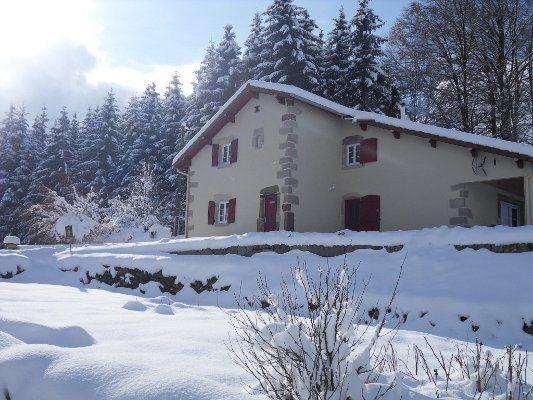 Gîte en hiver